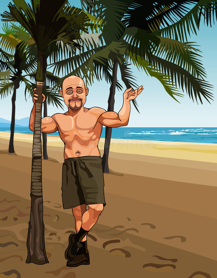 Cartoon Sandy Beach Choice Image - Wallpaper And Free Download