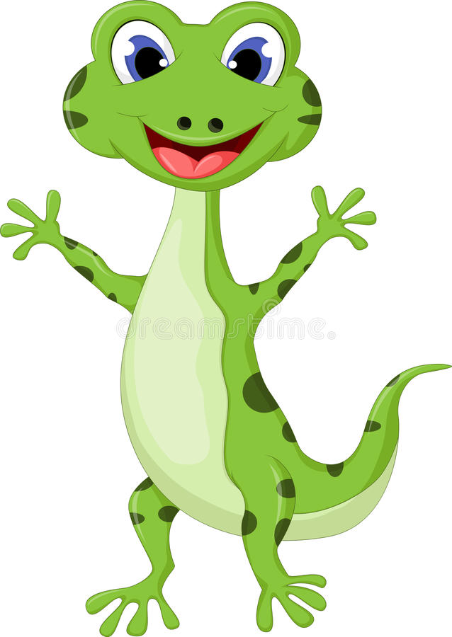 cartoon smiling gecko stock illustration illustration of sweet rh dreamstime com gecko cartoon drawing gekko cartoon pj masks
