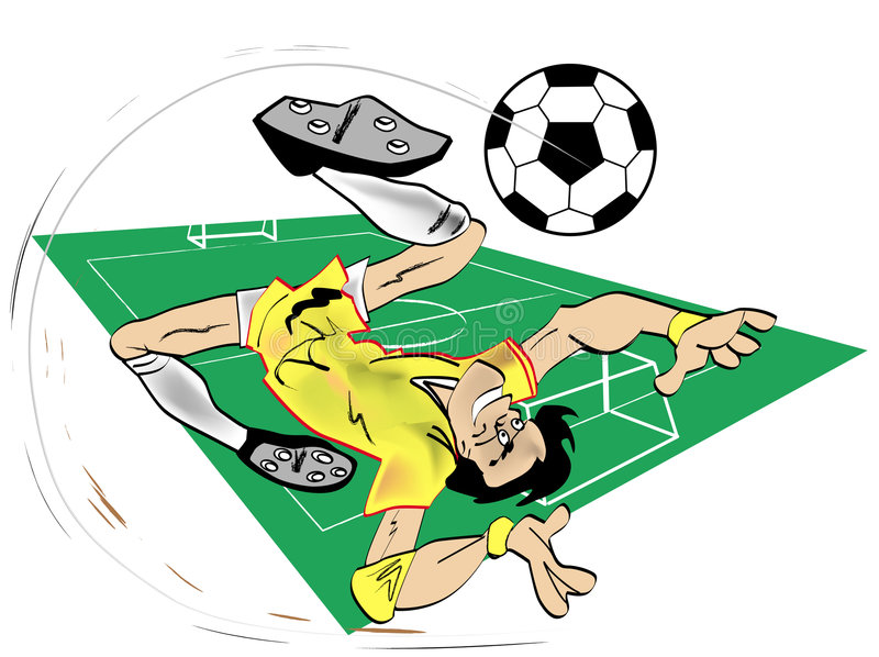 Download Cartoon Soccer Royalty Free Stock Image - Image: 2273766