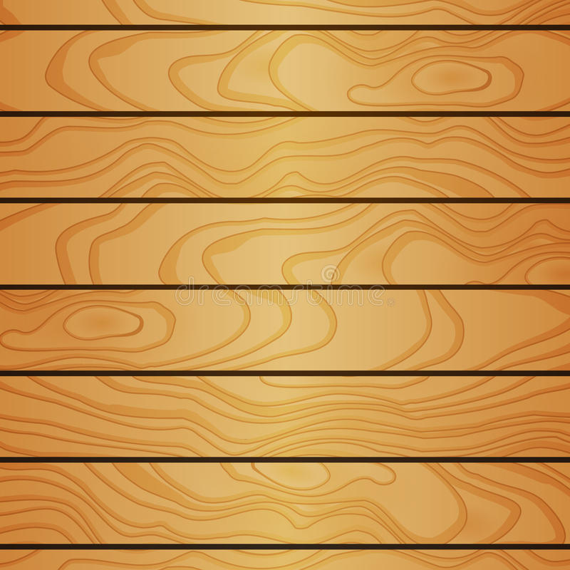 Download Cartoon Square Vector Background With Wooden Boards Stock