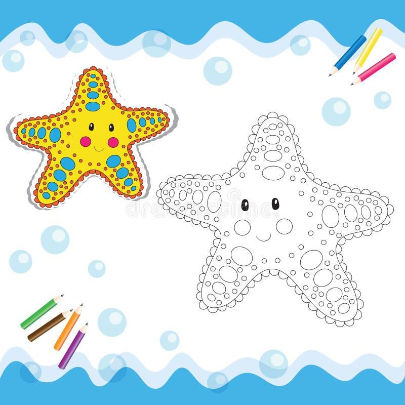Free Cartoon Starfish Royalty Free Stock Photography - 34048077