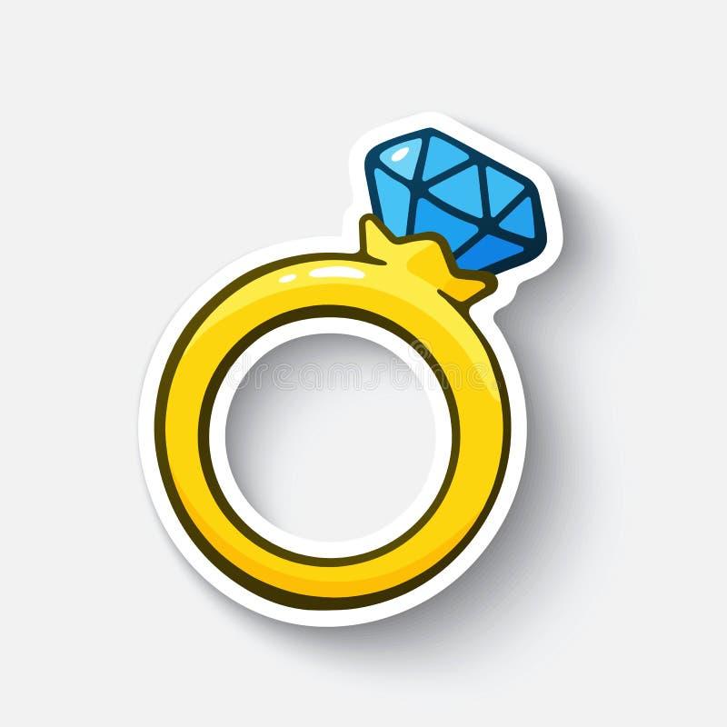 Diamond Contour Ring
