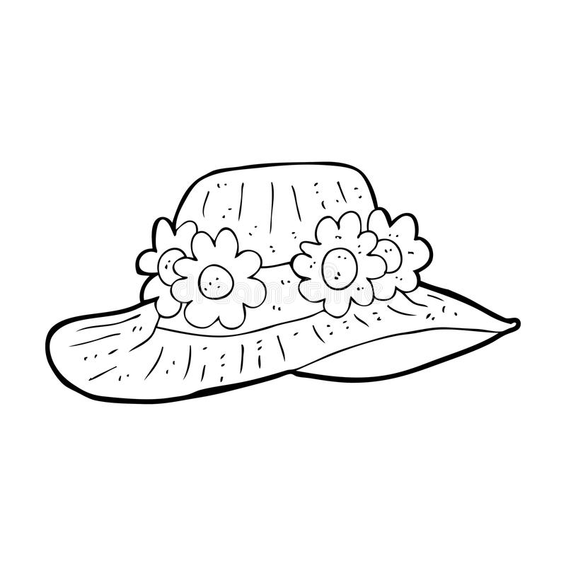 Cartoon Summer Hat Stock Illustration Illustration Of Cartoon 37029098