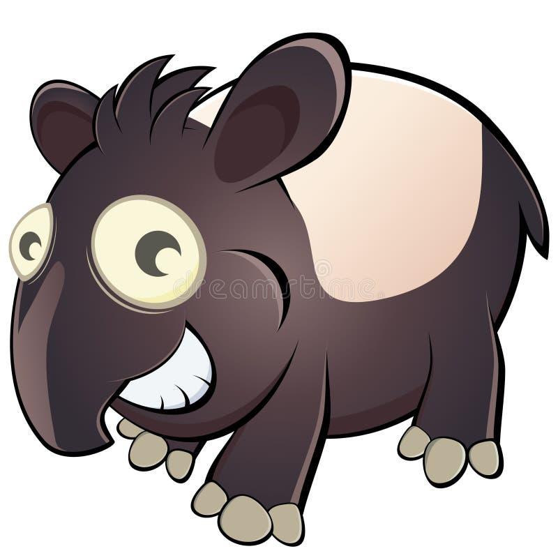 Download Cartoon Tapir Stock Images - Image: 18457304