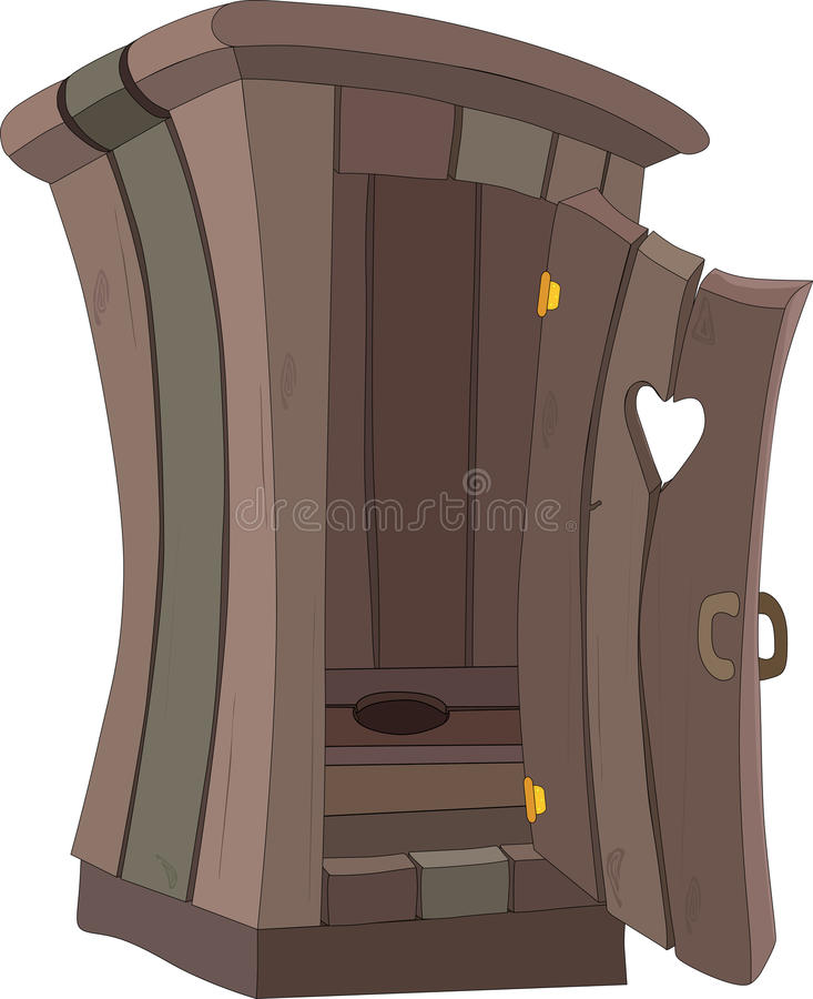 Cartoon toilet WC vector illustration