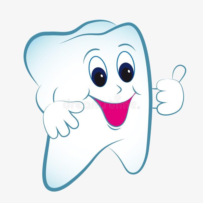 Free Cartoon Tooth Royalty Free Stock Image - 19919106