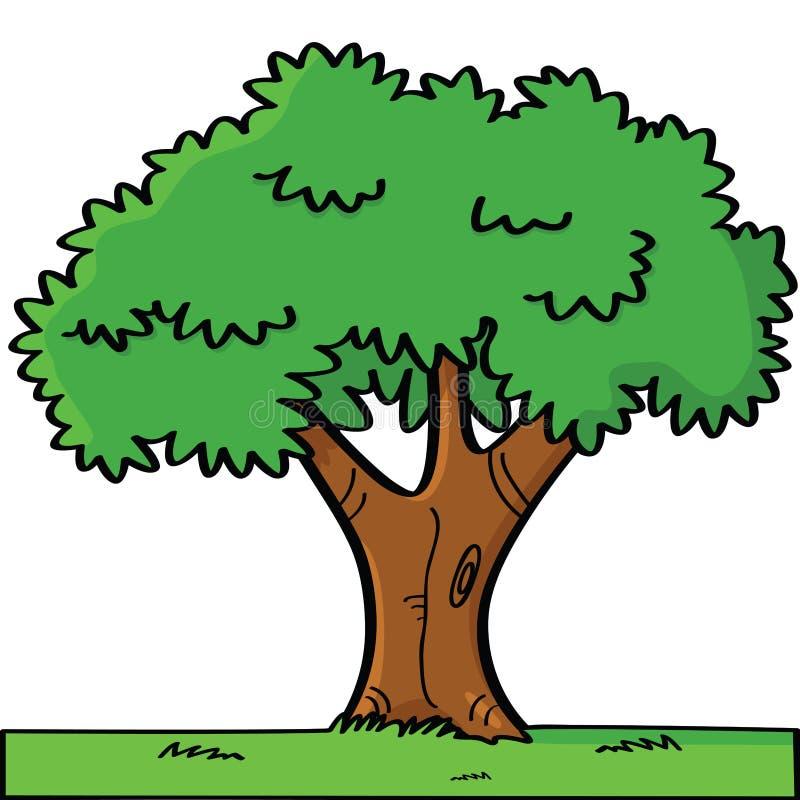 Cartoon tree stock vector. Illustration of cartoon, garden ...