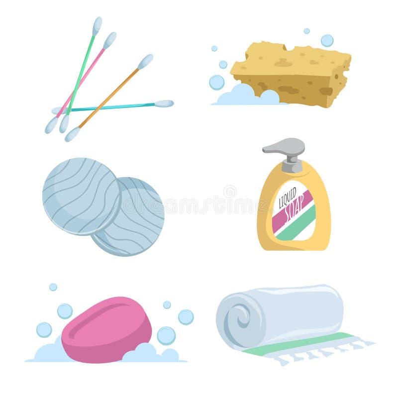 Free Cartoon Trendy Simple Gradient Bath Icon Set. Royalty Free Stock Photography - 101086577