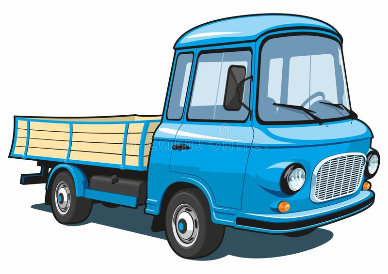 Cartoon truck royalty free illustration