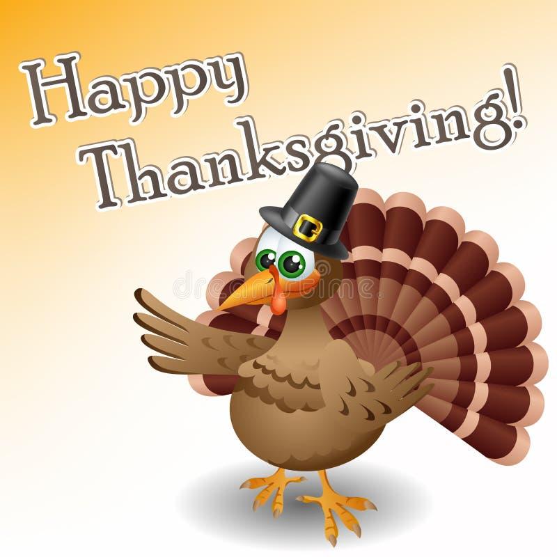 Cartoon turkey stock vector. Illustration of happy, cute ...