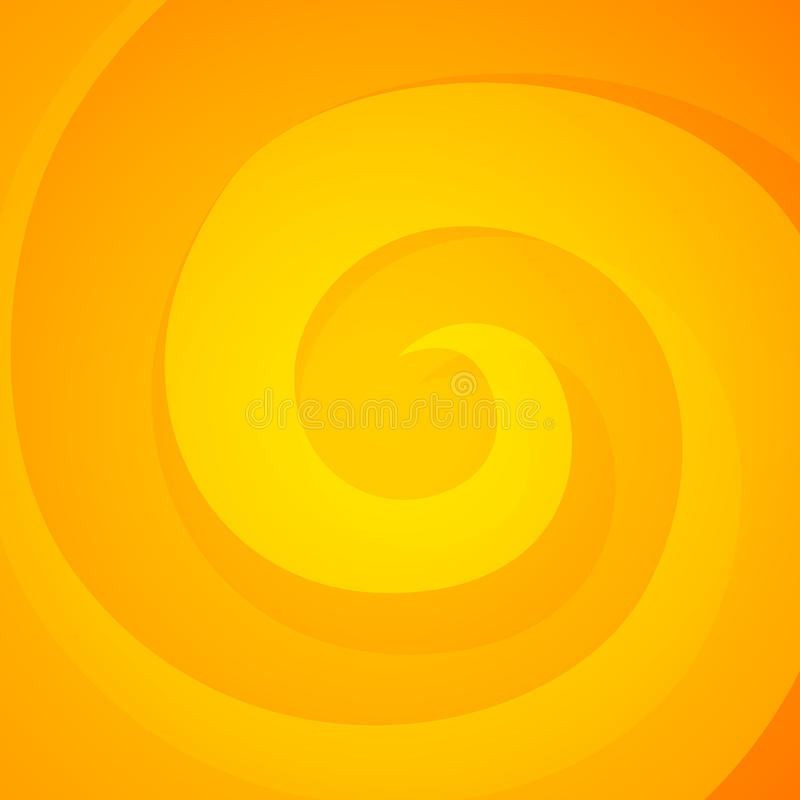 Cartoon Vector Background with Fire Swirl stock illustration