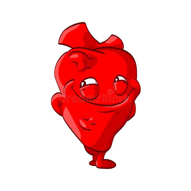 Free Cartoon Vector Heart Royalty Free Stock Photo - 102409425