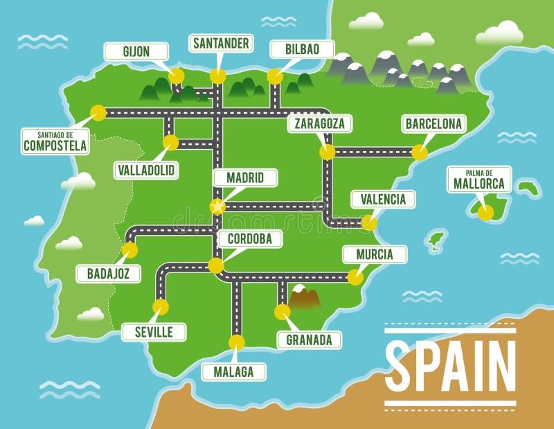 Spanish Main Map stock illustration. Illustration of cutlass - 1515059