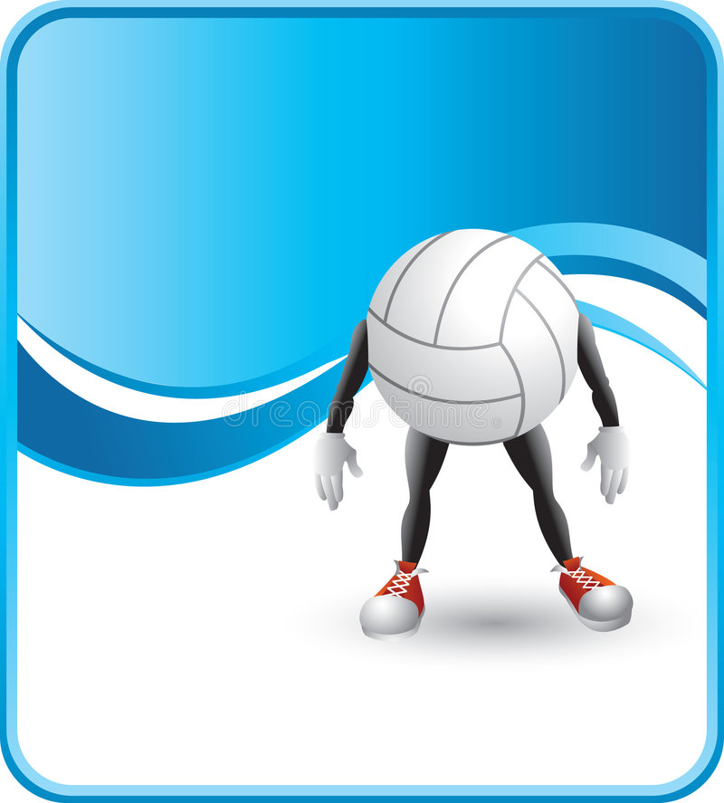 Download Cartoon Volleyball Royalty Free Stock Photography - Image: 8984307