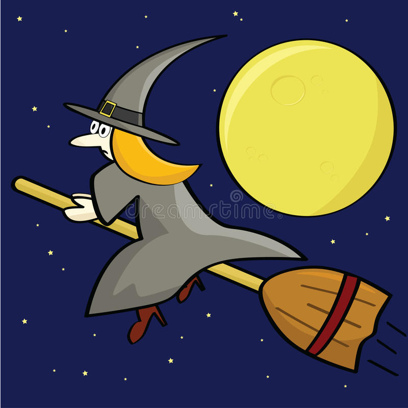 Download Cartoon Witch Stock Photo - Image: 15776320