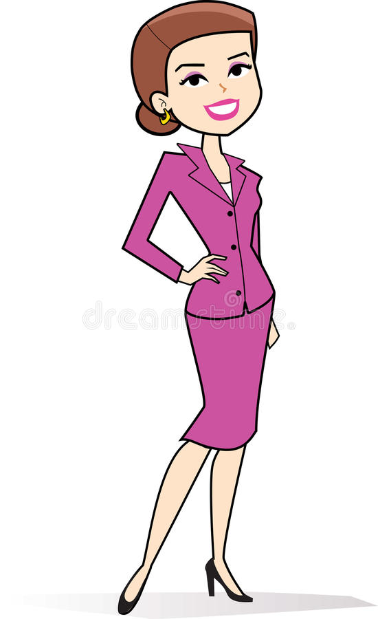 cartoon woman clipart in retro style drawing stock vector rh dreamstime com women clipart messages woman clipart black & white