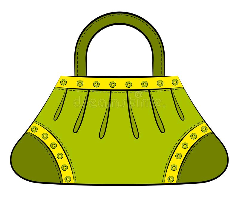 Download Cartoon Woman's Bag. Stock Images - Image: 20307064