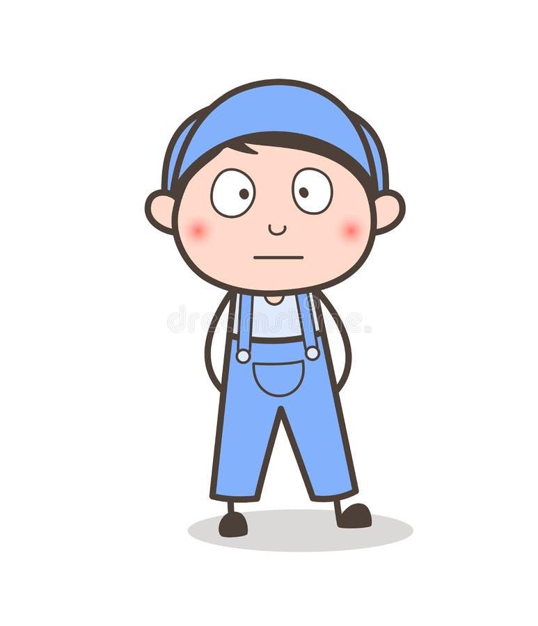 Cartoon Young Boy Surprised Face Vector. Cartoon Young Boy Surprised Face design vector illustration