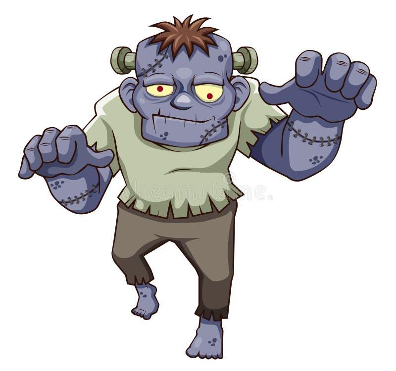 Download Cartoon zombie stock vector. Illustration of cruel, cyan - 27197263