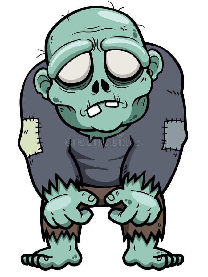 Cartoon zombie stock vector. Illustration of adult ...