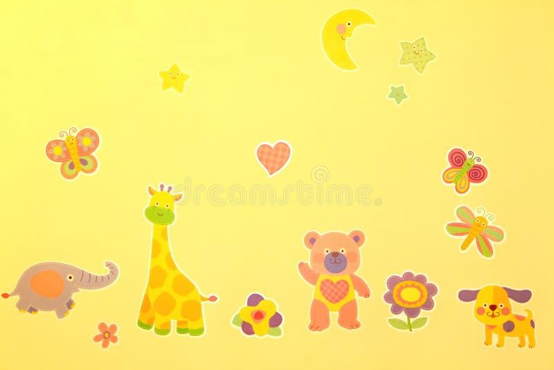 Cartoon Zoo Royalty Free Stock Photography