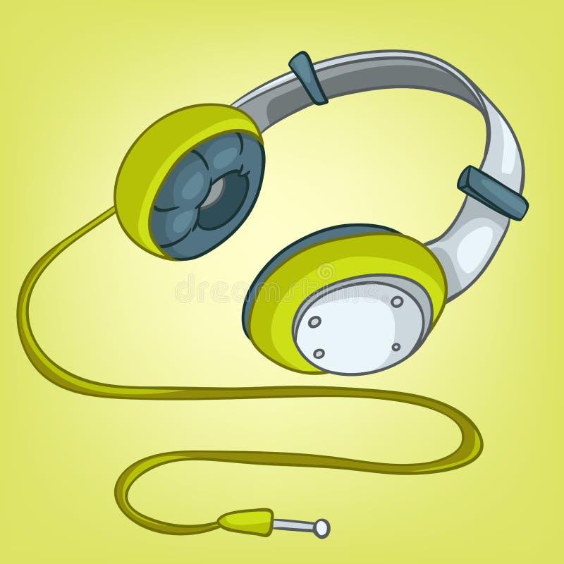 Cartoons Home Appliences Headphone stock illustration