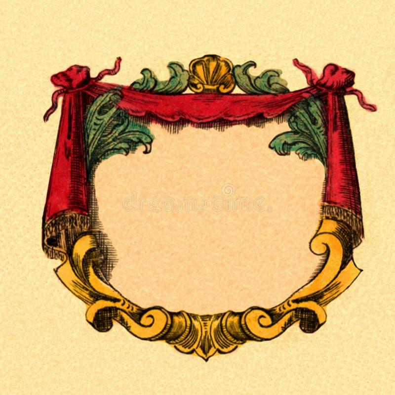 cartouche иллюстрация вектора