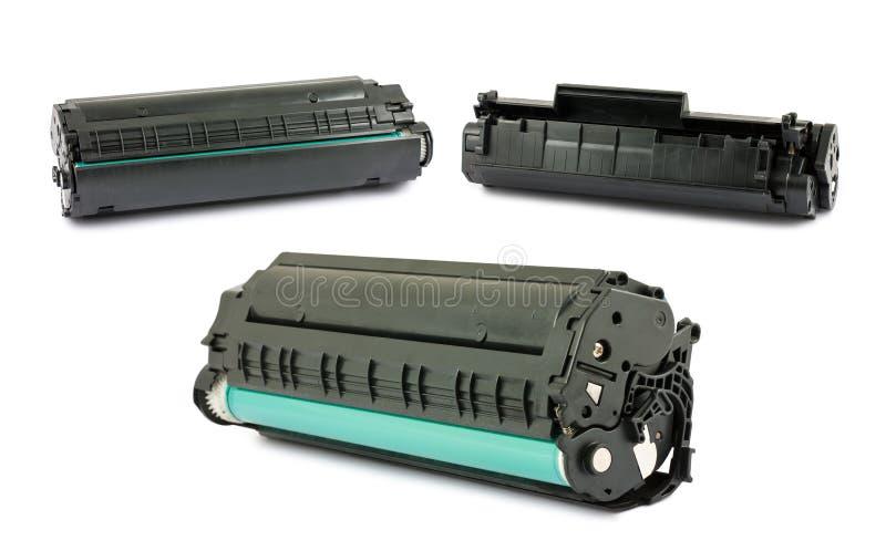 Cartouches pour l'imprimante laser photographie stock