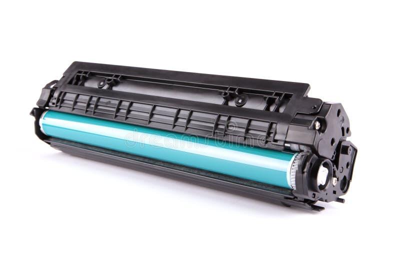 Cartridge. Laser cartridge isolated on white background stock image