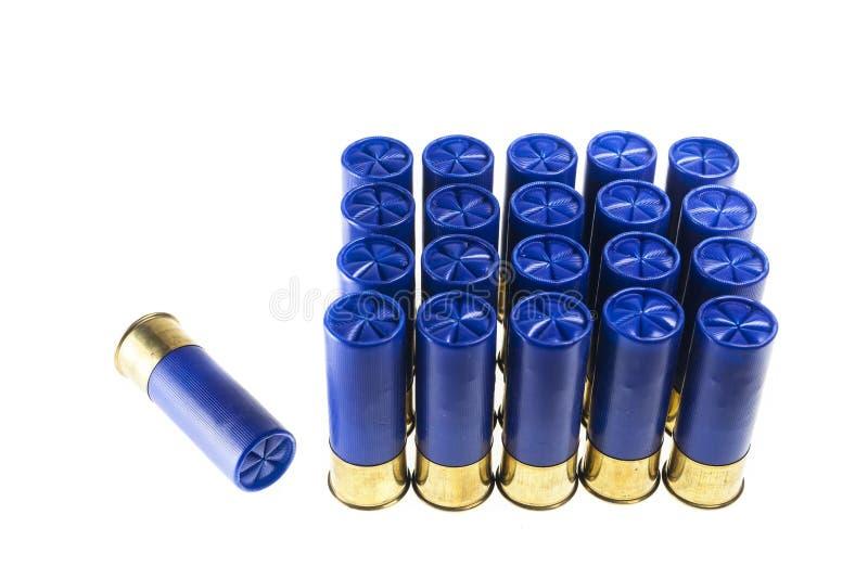Cartucce per fucili a canna liscia immagine stock