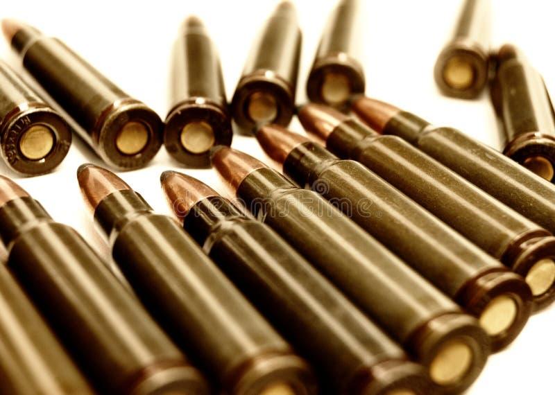 Cartucho de AK-47 (7.62 milímetros) imagem de stock royalty free