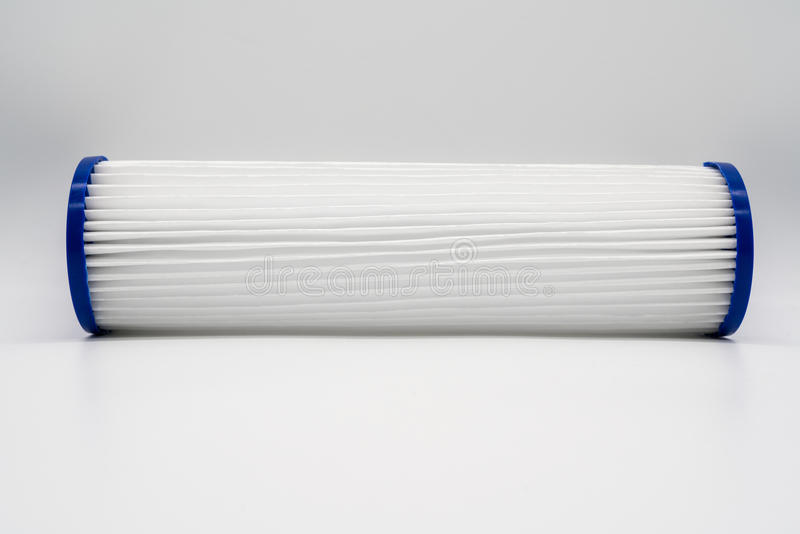 Cartucho de filtro de agua foto de archivo