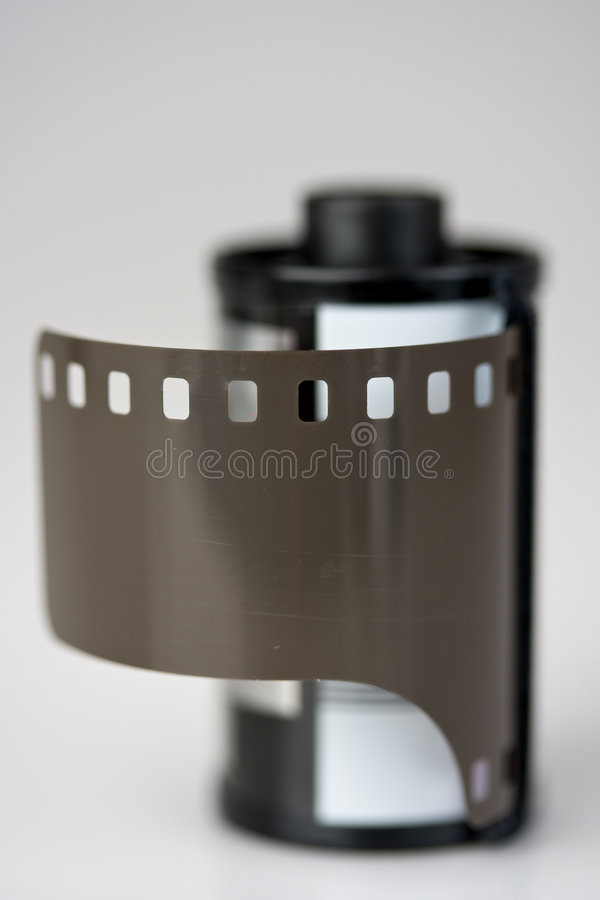 cartucho de la película de 35m m fotos de archivo