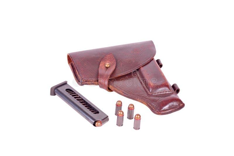 Cartucho de la pistolera foto de archivo
