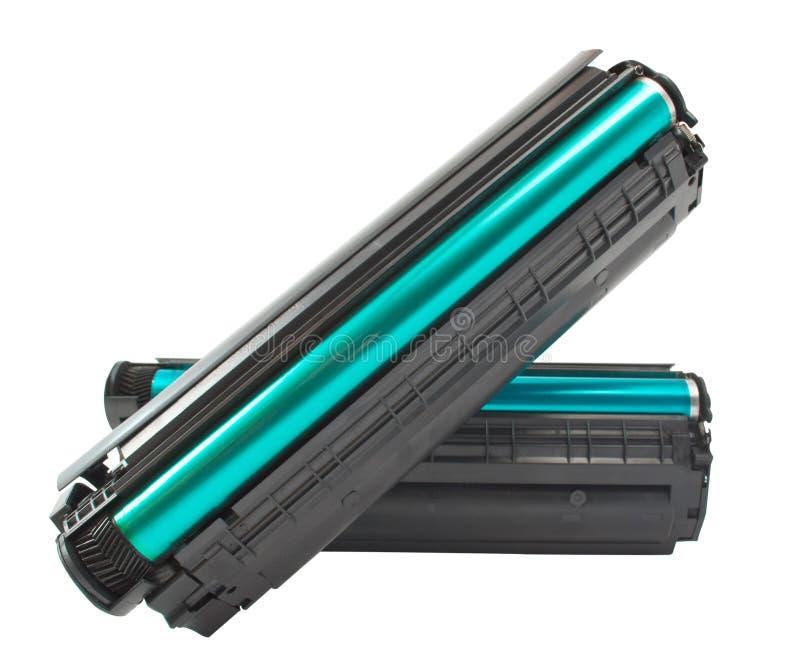 Cartucho para a impressora de laser fotografia de stock royalty free