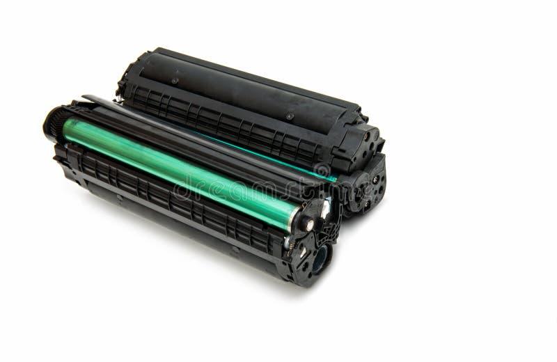 Cartucho para a impressora de laser foto de stock