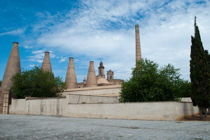 Cartuja修道院在塞维利亚 库存照片