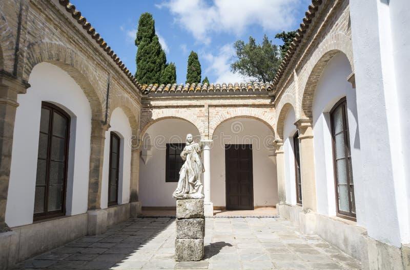 Cartuja monaster, Jerez De La Frontera, Hiszpania (Charterhouse) zdjęcia stock