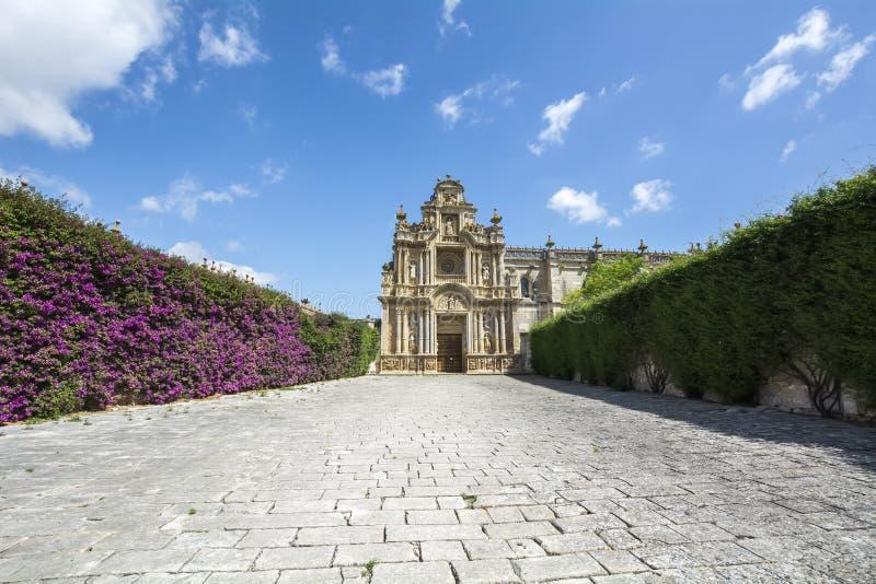 Cartuja monaster, Jerez De La Frontera, Hiszpania (Charterhouse) obrazy stock