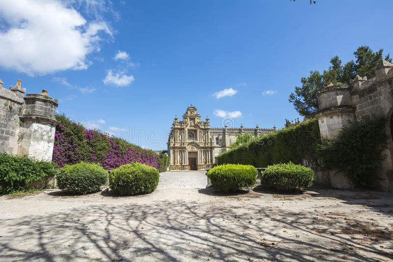 Cartuja Monastery, Jerez de la Frontera, Spain (Charterhouse).  royalty free stock photography