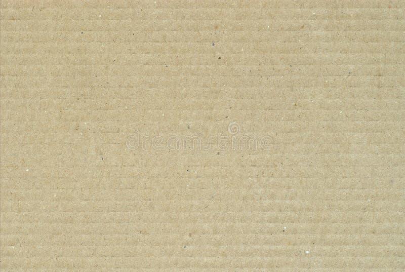 Cartulina acanalada fotografía de archivo libre de regalías