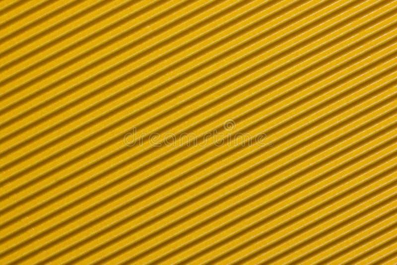 Cartulina acanalada amarilla colorida texturizada stock de ilustración