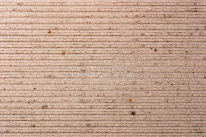 Cartulina de Brown (textura) foto de archivo libre de regalías