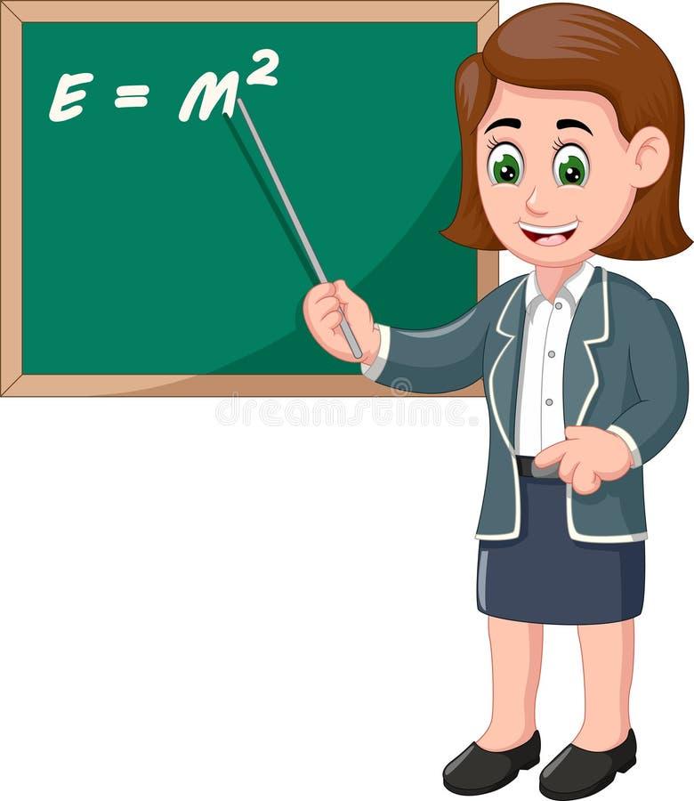 Cartum de Professores Engraçado ilustração do vetor