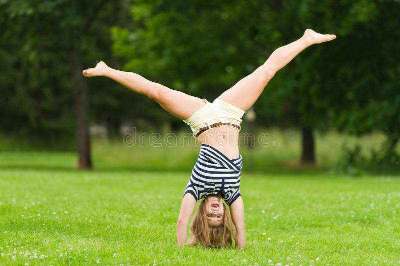 Cartwheel Stock Photo