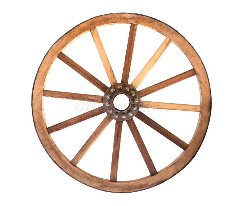 Cartwheel di legno fotografia stock