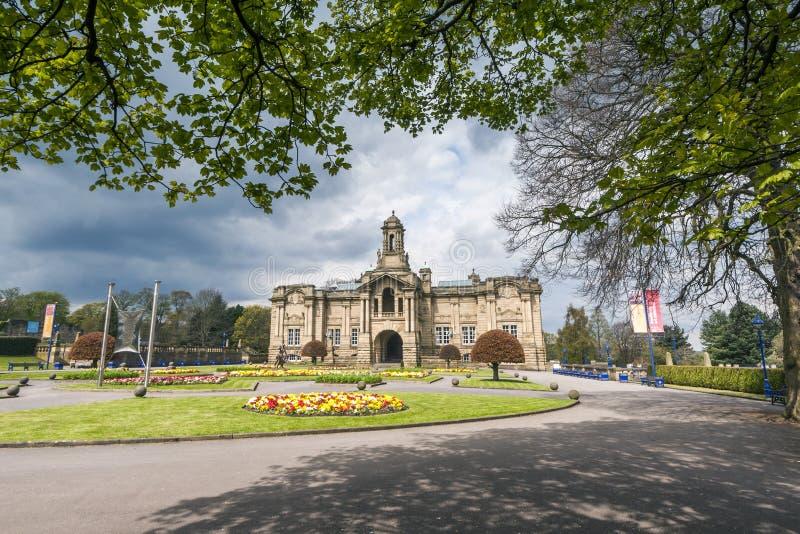 Cartwright sala, lister park, Bradford obrazy stock