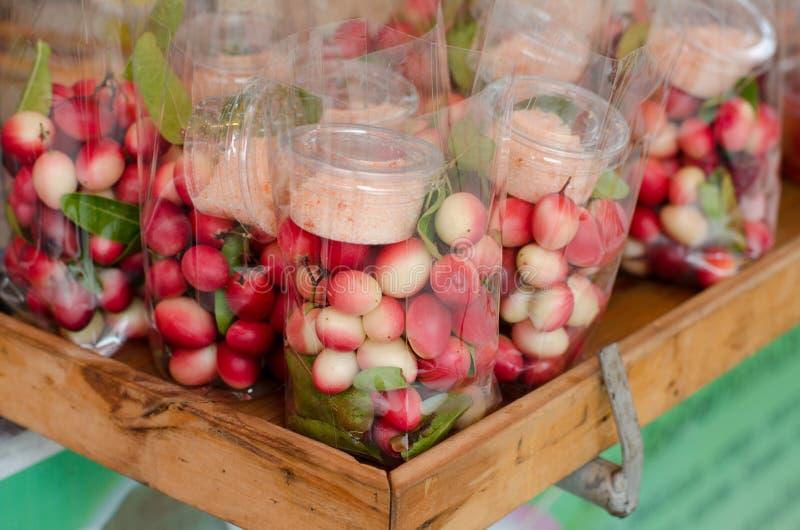 Carunda o Karonda Fruite fotografia stock libera da diritti