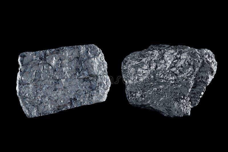 Carvão foto de stock