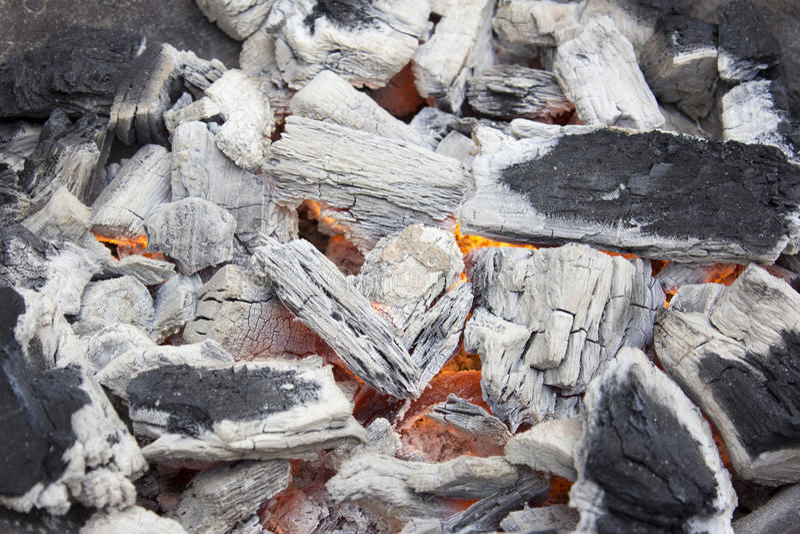 carvão imagem de stock